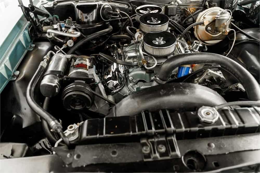 1966 Pontiac GTO convertible  engine