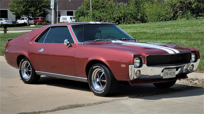 1968 AMC AMX on AutoHunter