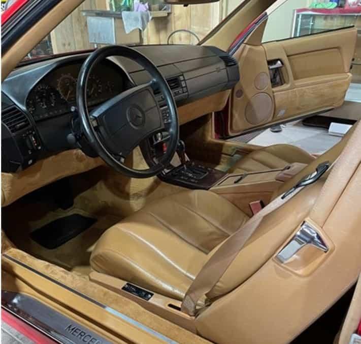 1991 Mercedes-Benz 300SL interior