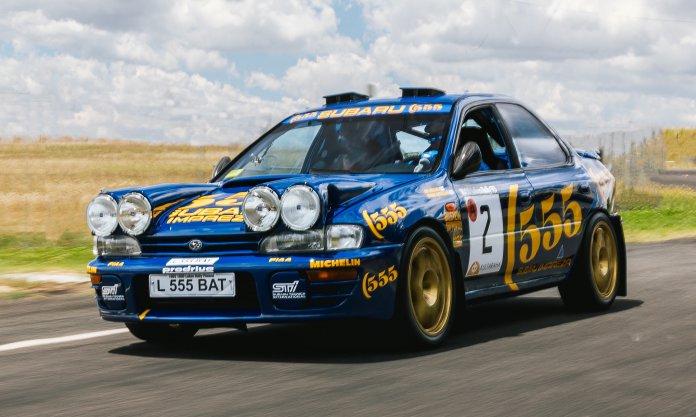 1994 Subaru 555 rally car