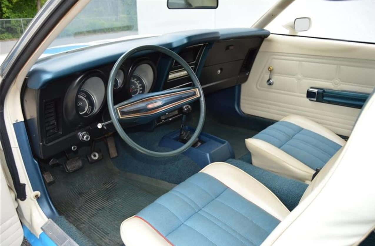 1972 Ford Mustang Sprint interior
