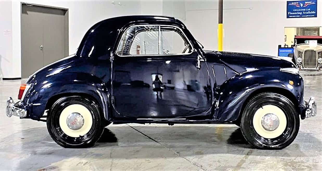 fiat, Pick of the Day: 1953 Fiat 500C Topolino micro-car for 2 small people, ClassicCars.com Journal