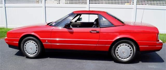 The Pick of the Day is a 1991 Cadillac Allante being offered for sale by its second owner.