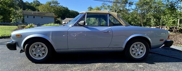 Pininfarina, Pick of the Day: Post-Fiat, Pininfarina produced the Spider, ClassicCars.com Journal