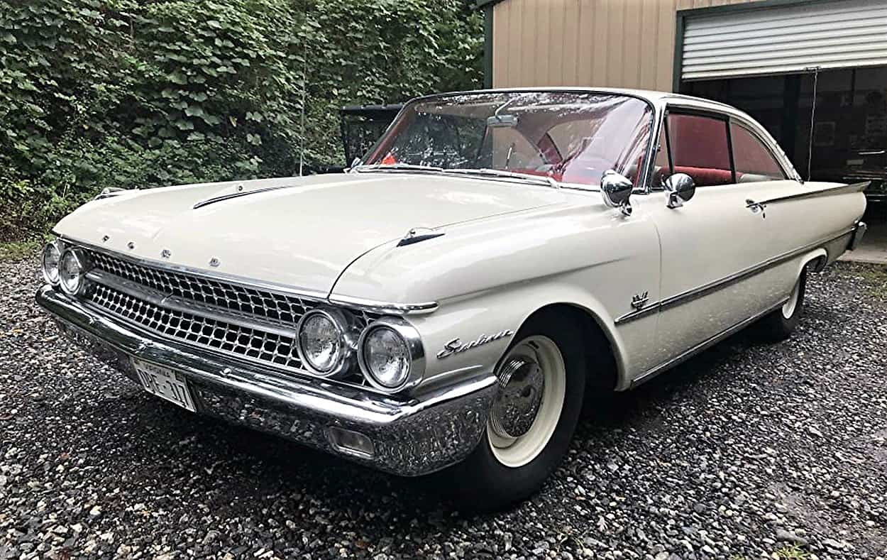 ford, Pick of the Day: 1961 Ford Starliner with a sweeping hardtop roofline, ClassicCars.com Journal