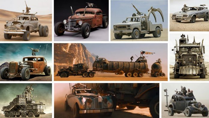 Collection of 'Mad Max: Fury Road' cars headed to auction | Lloyds Auctions photos