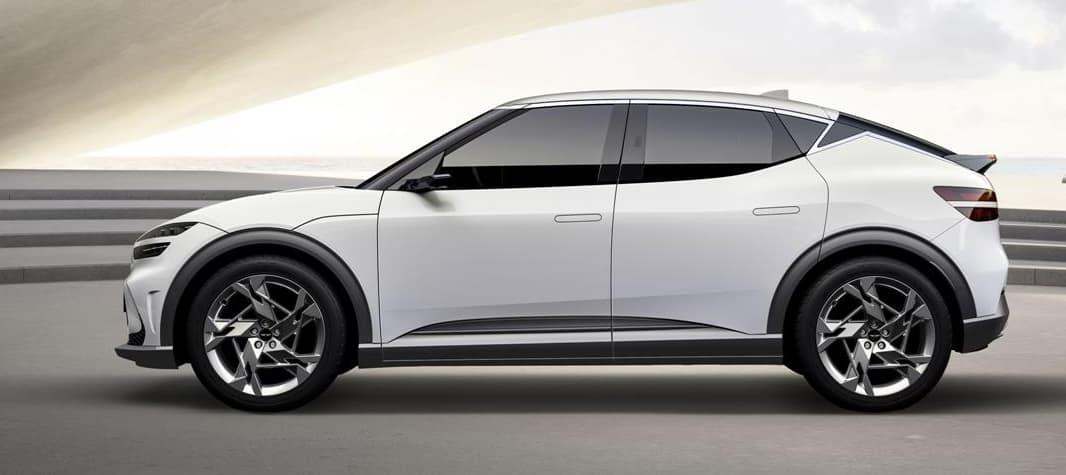 Genesis shows electric GV60 car
