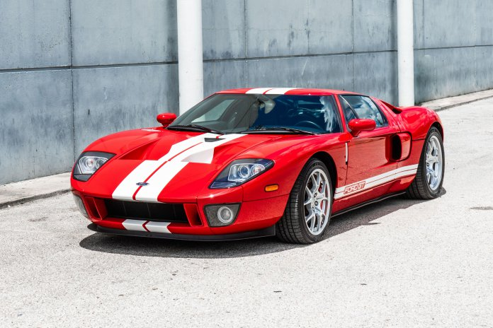 2005 Ford GT up for auction at Barrett-Jackson's Houston auction | Barrett-Jackson photo