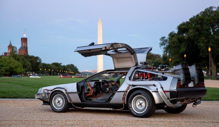 DeLorean in DC