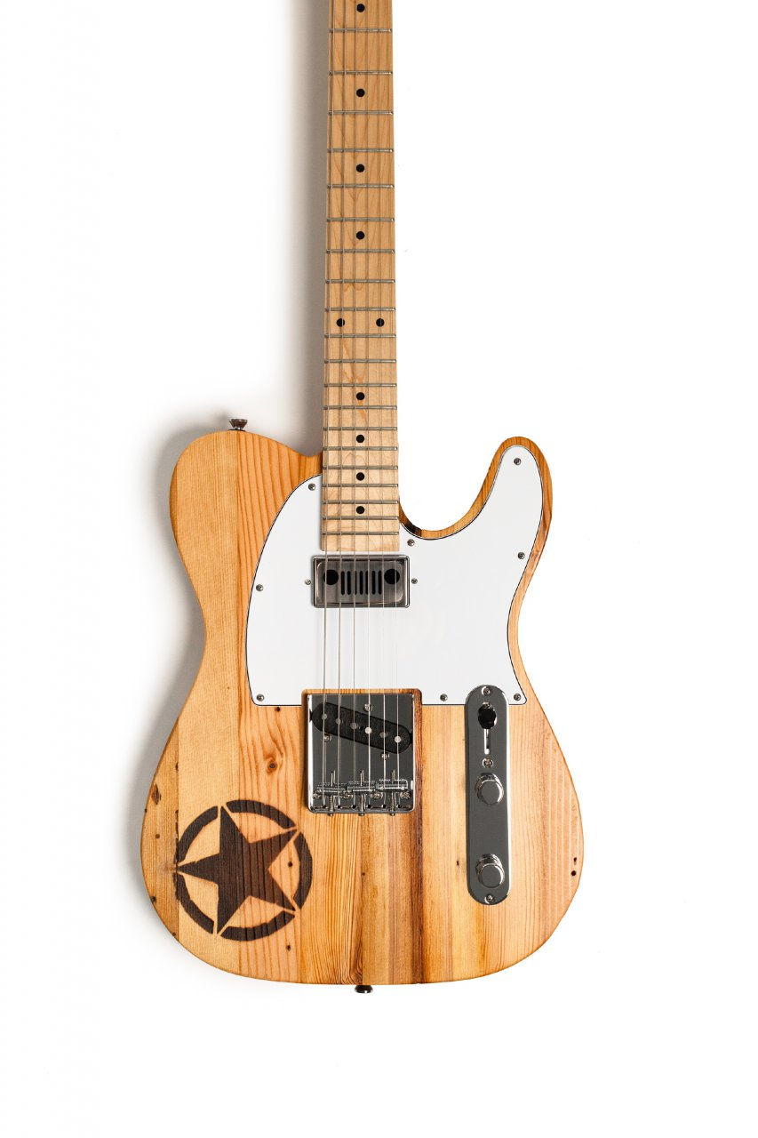 Jeep, Jeep creates custom guitar with wood sourced from historic Detroit buildings, ClassicCars.com Journal