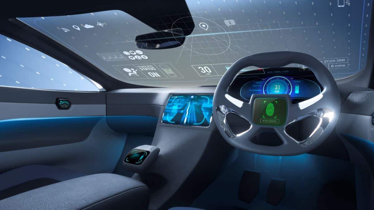 cars of the future interior
