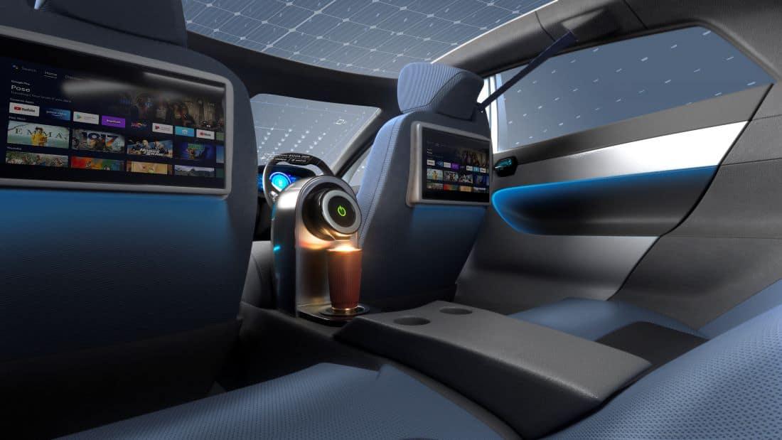 cars of the future coffee machine