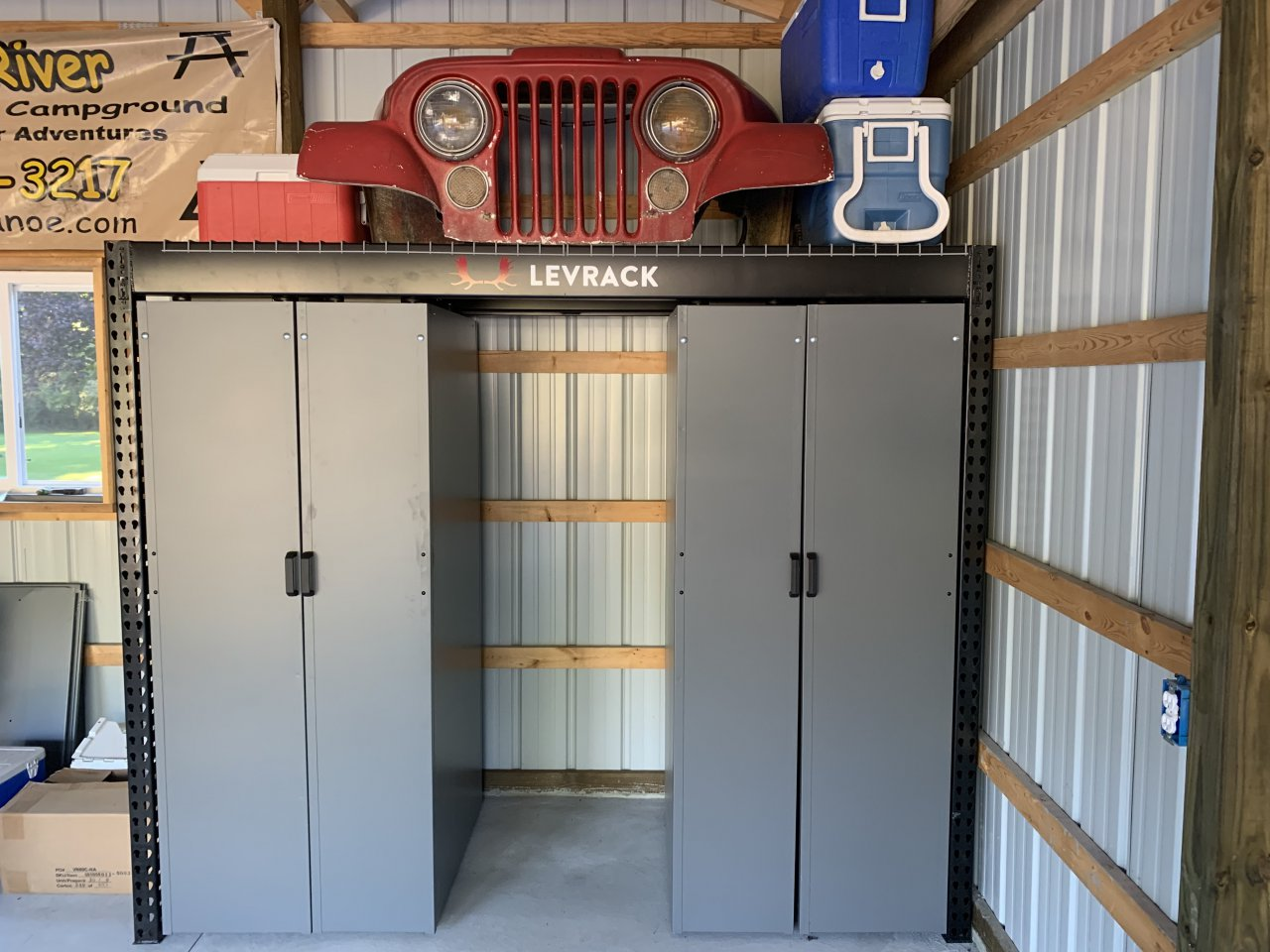 storage, There's never enough space, but Levrack storage system can help, ClassicCars.com Journal