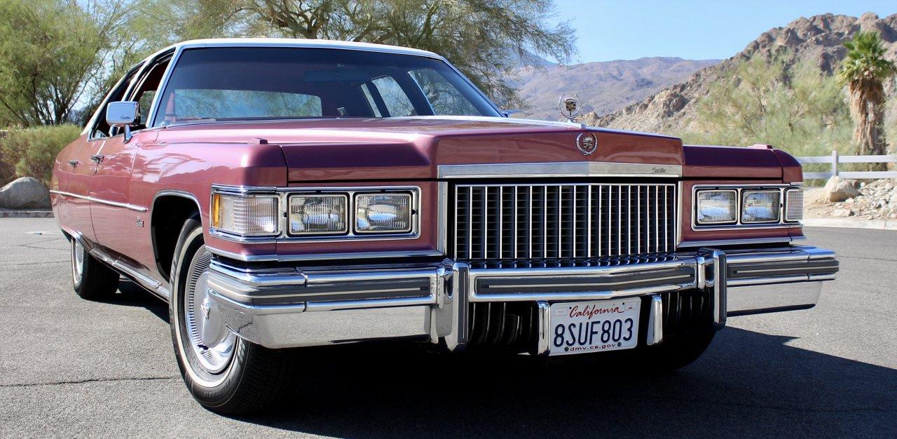 Comparing Cadillacs: '75 Fleetwood Brougham and new CT5-V
