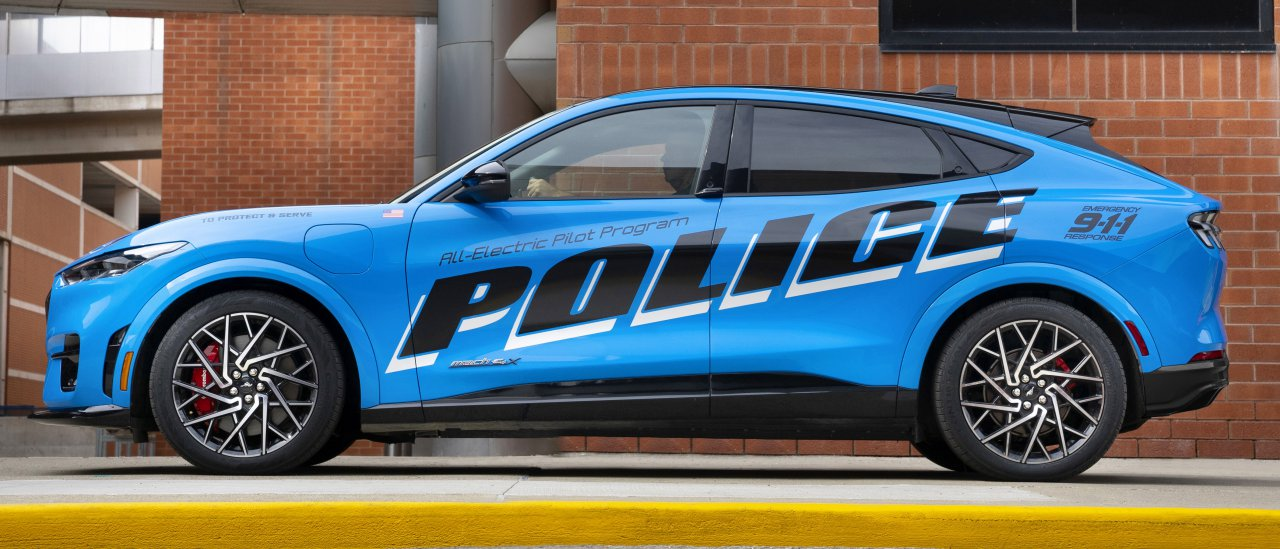 police, Don't laugh at that Mustang Mach-E in your rearview mirror, ClassicCars.com Journal