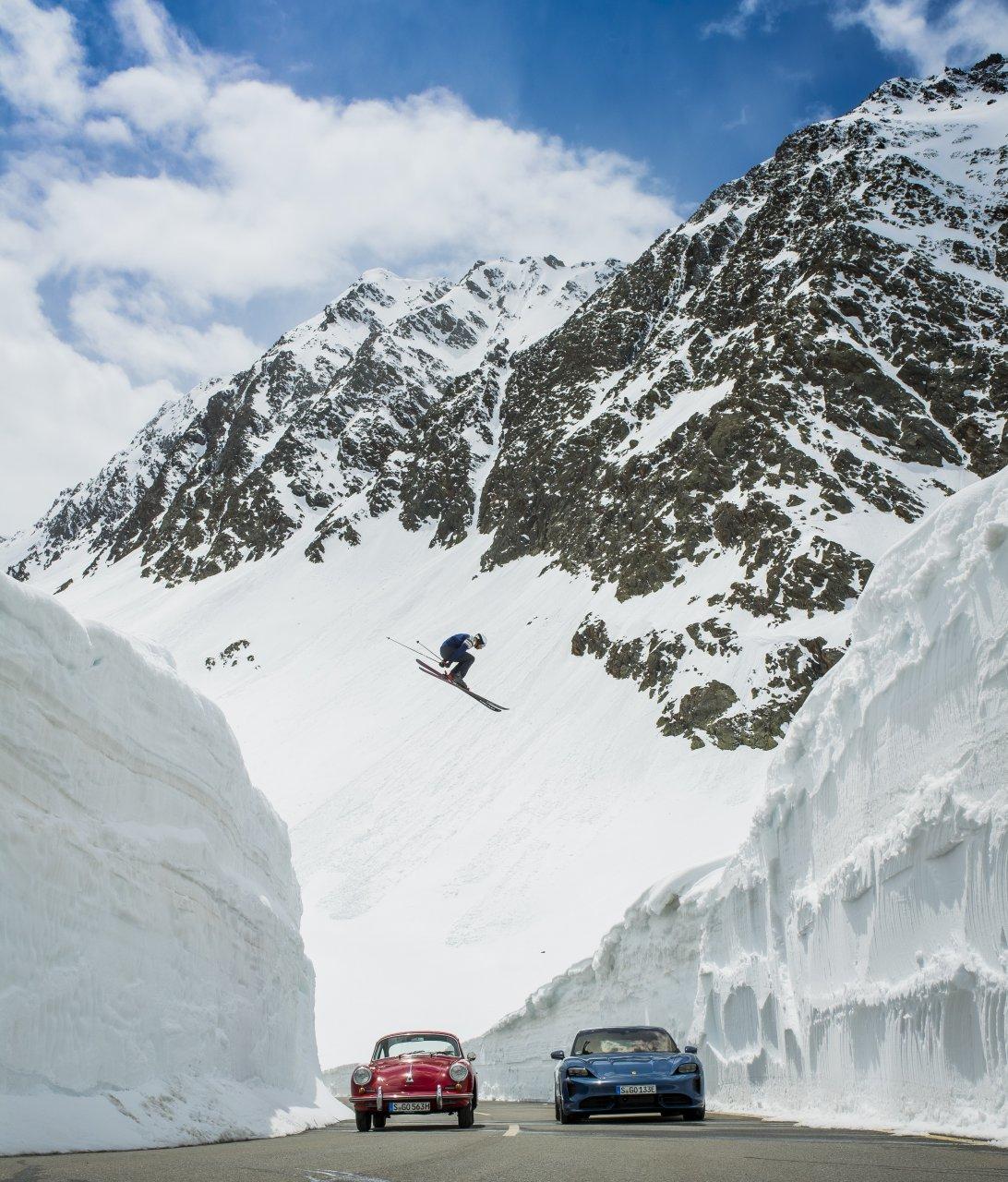 Porsche, Porsche re-creates iconic photo, 'The Jump', ClassicCars.com Journal