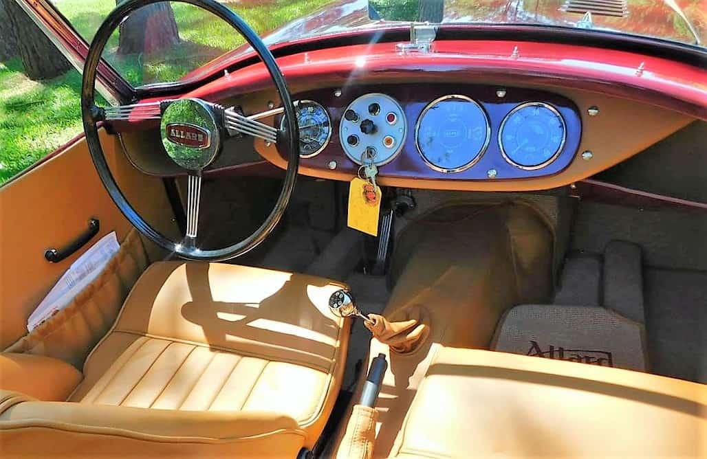 allard, Pick of the Day: 1955 Allard Palm Beach powered by a Jaguar engine, ClassicCars.com Journal