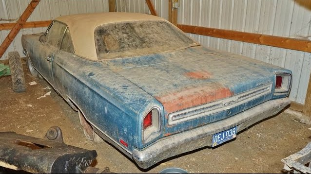 Barn-found 1969 Plymouth GTX | Photos from Auto Archaeology video