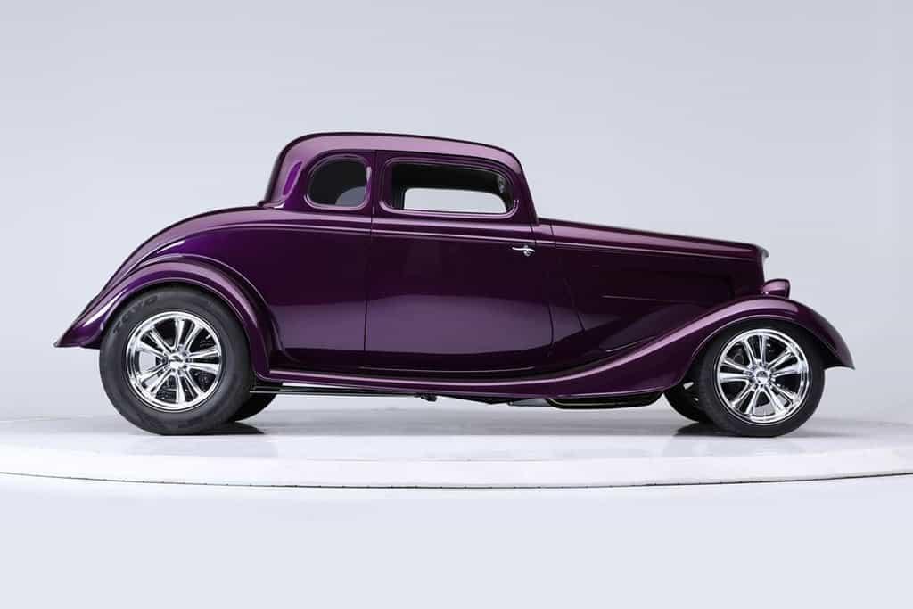 1934 Ford 5-Window Custom Coupe