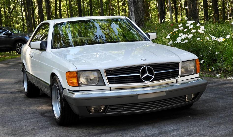 1985 Mercedes-Benz 500 SEC on AutoHunter