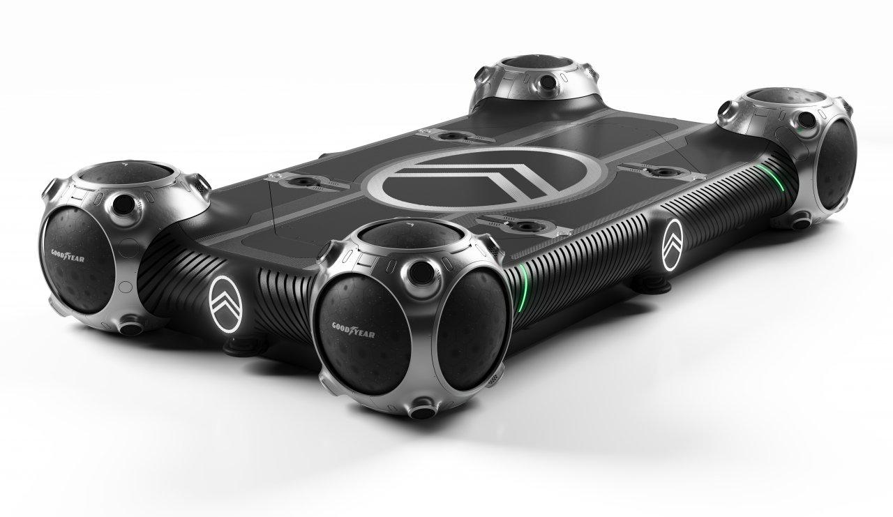 Citroen, Citroen shows concept for urban skateboard-based transport pods, ClassicCars.com Journal
