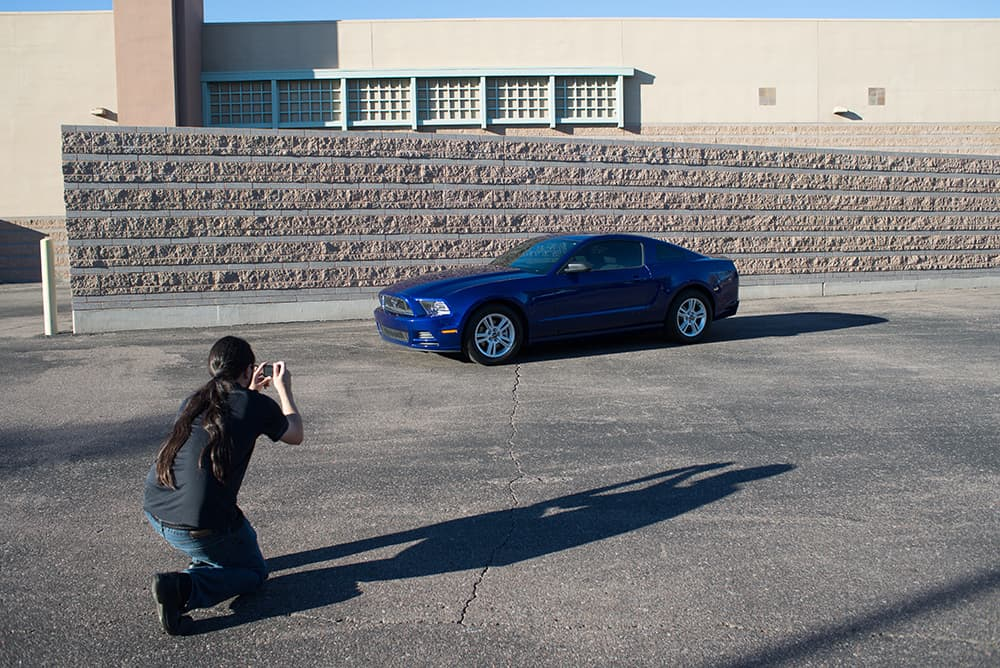 vStaff Photographer Tim Heit has been photographing cars for Barrett-Jackson for more than 10 years.
