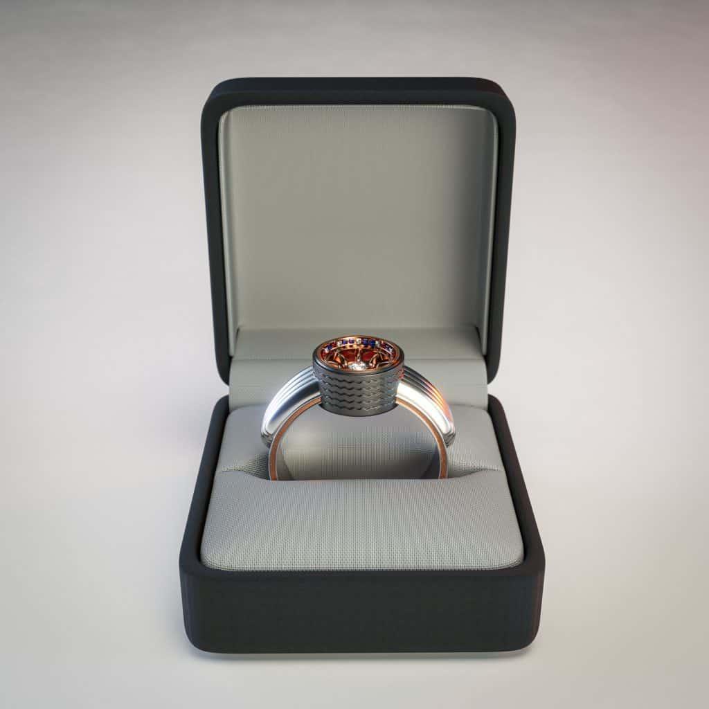 Mini Cooper Rings