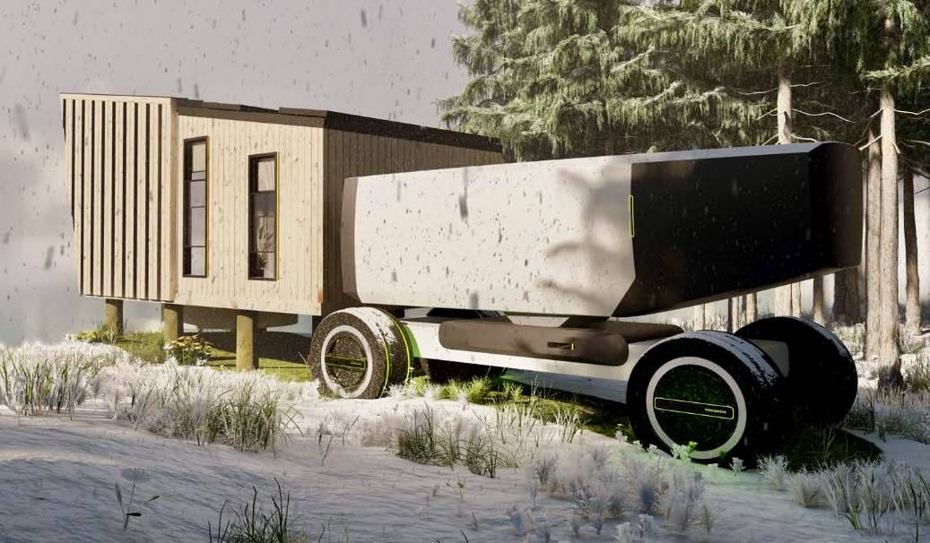 VW, design students share ideas for the future of long-distance travel