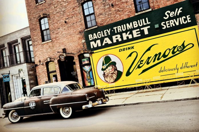 Devin Sykes' 1953 Chrysler New Yorker taxicab | Devin Skyes and Vintage Taxi Tours photos