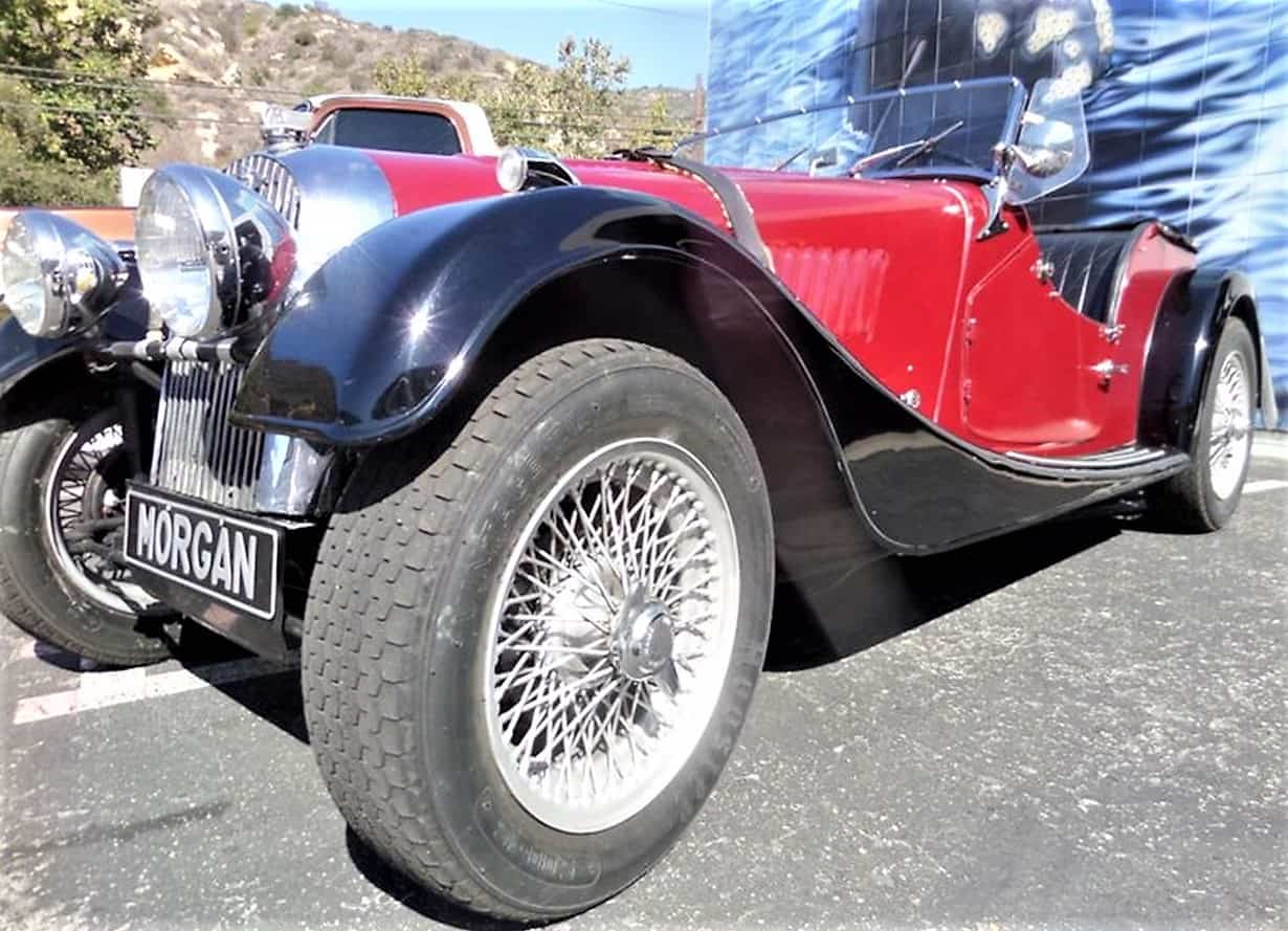 morgan, Pick of the Day: 1951 Morgan Plus 4 'flat rad' roadster for road or track, ClassicCars.com Journal