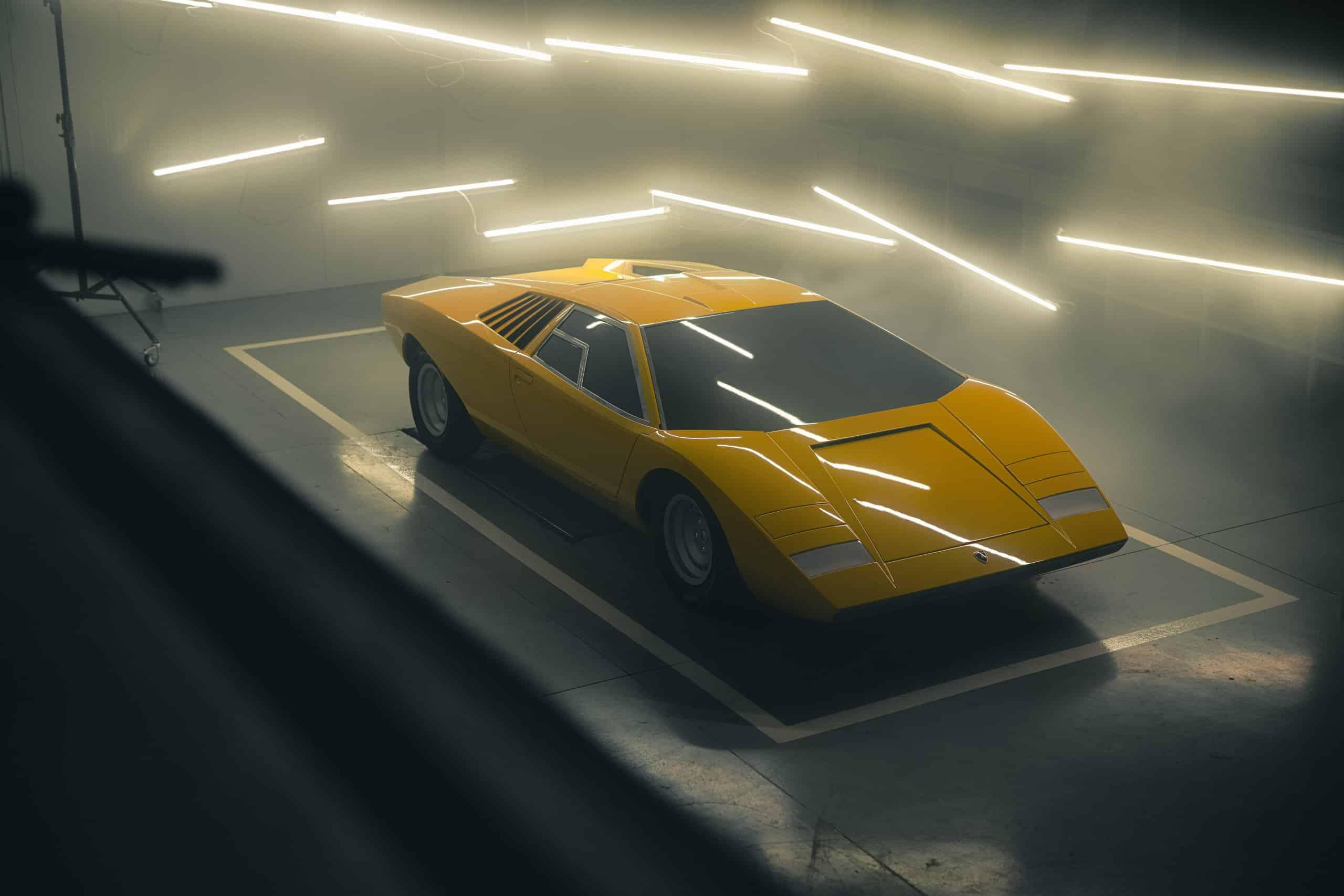 Reconstructed Countach LP 500 | Lamborghini photos