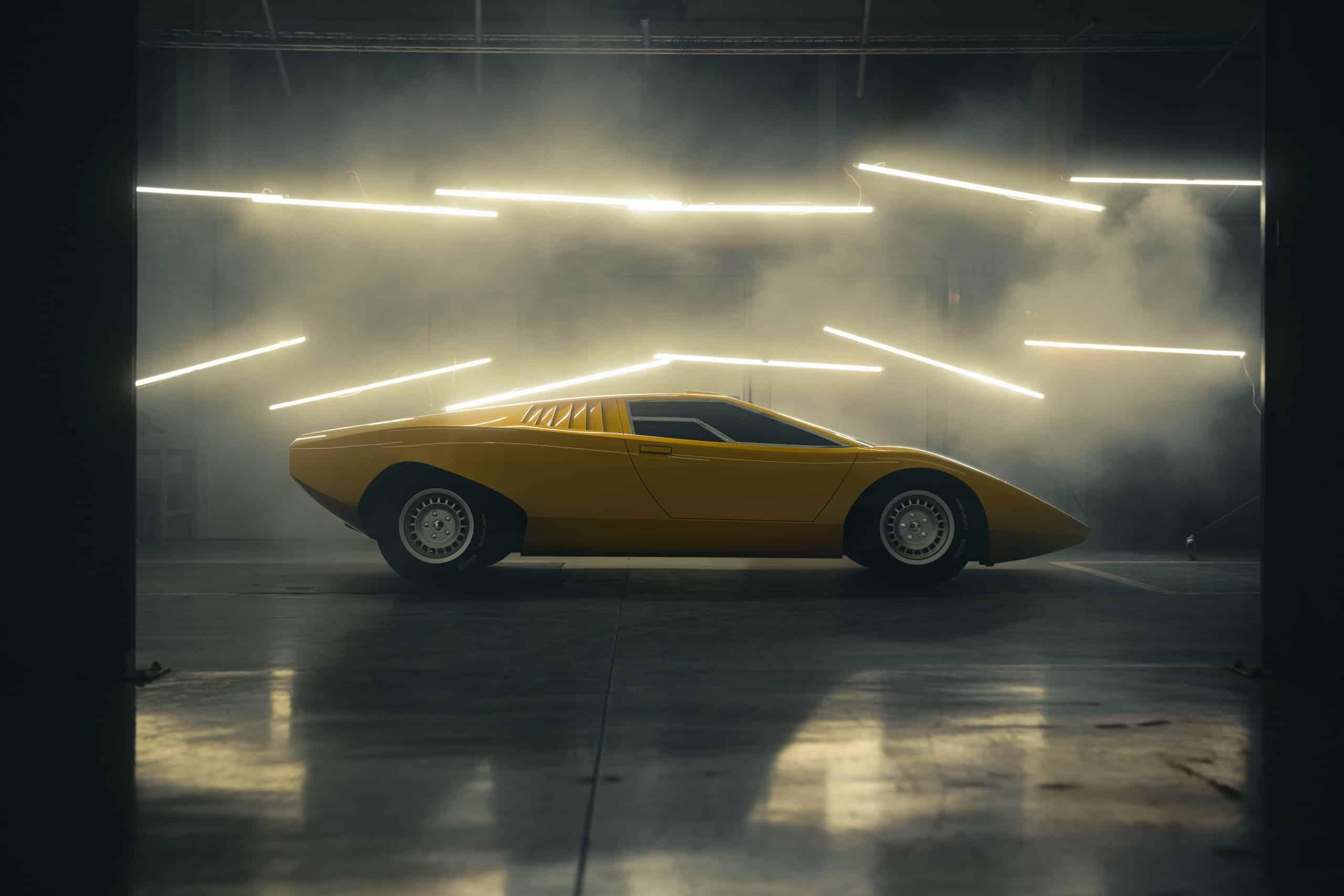 Reconstructed Countach LP 500   Lamborghini photos