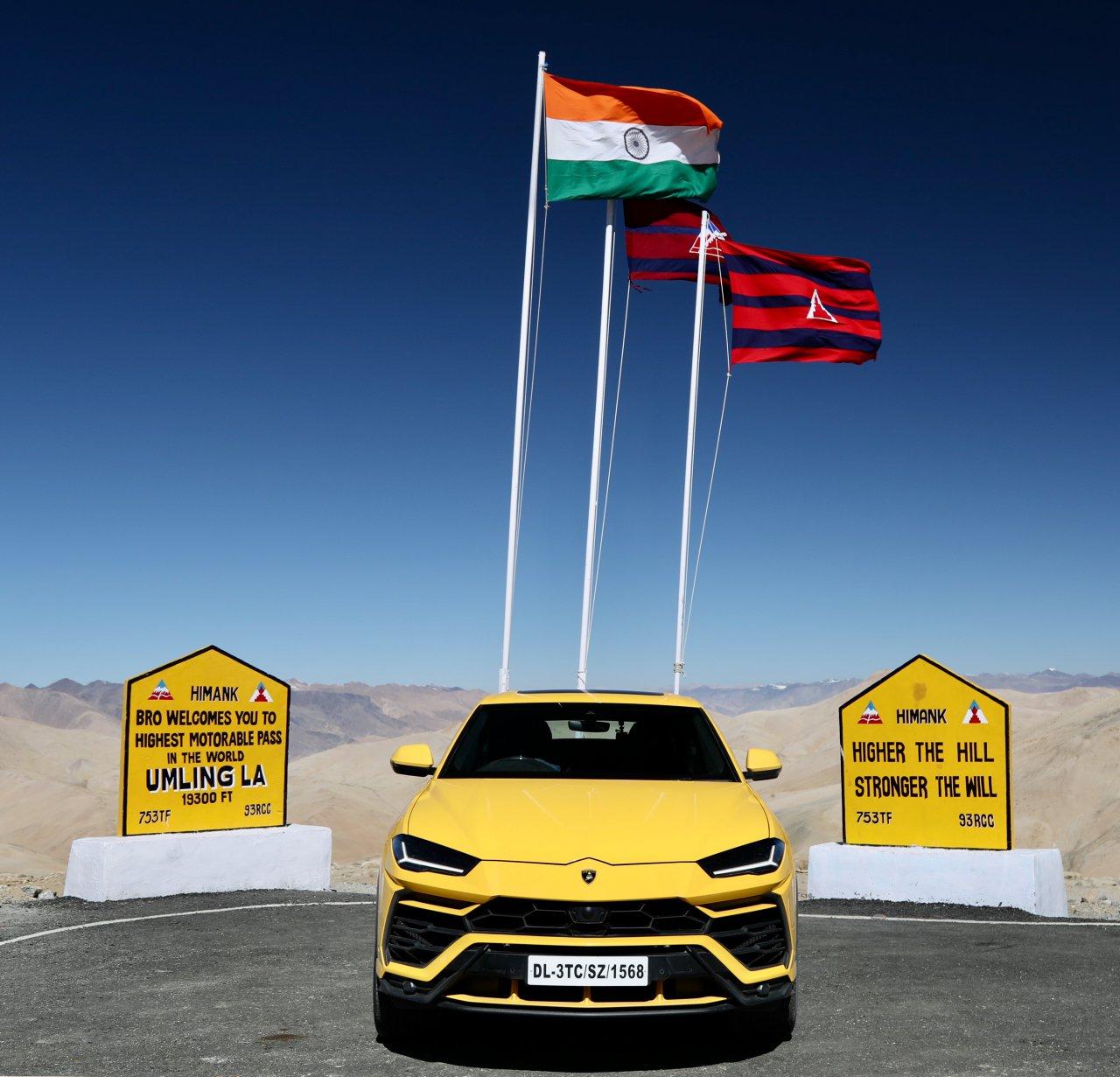 Lamborghini, Lamborghini conquers world's highest drivable road, ClassicCars.com Journal