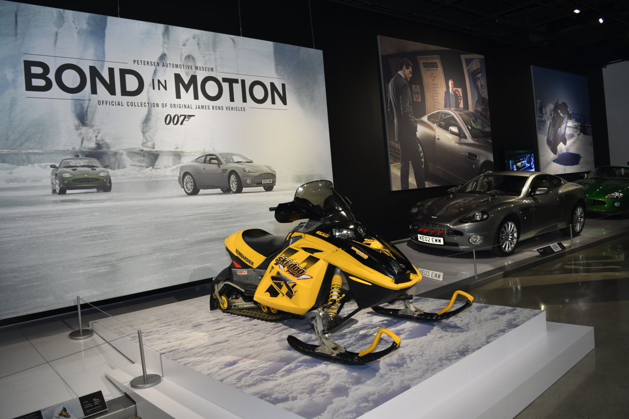 Bond, 007 X 60 = 'Bond in Motion' exhibit at the Petersen museum, ClassicCars.com Journal