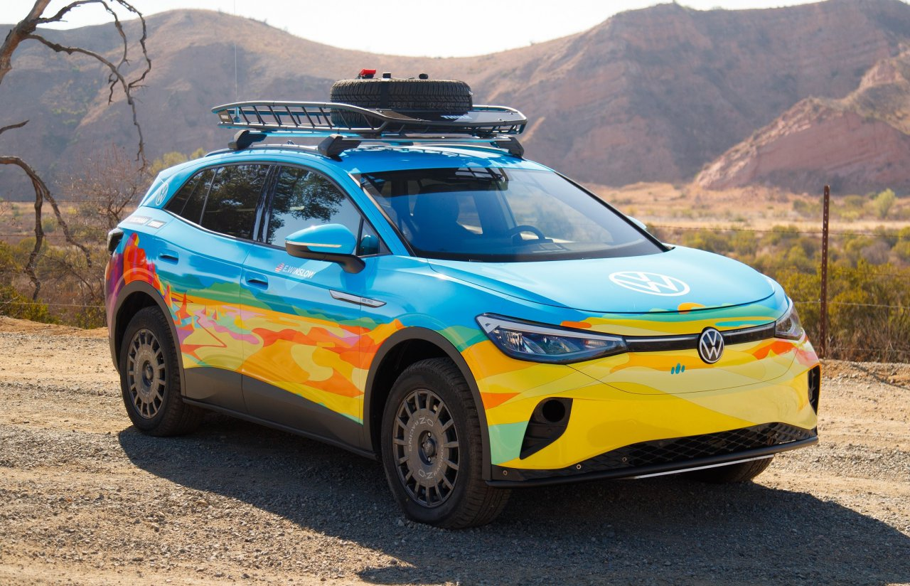 Volkswagen, Volkswagen enters Rebelle Rally with new ID.4 EV, ClassicCars.com Journal