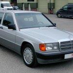 Mercedes190E_NoTimeToDie_Car&Classic