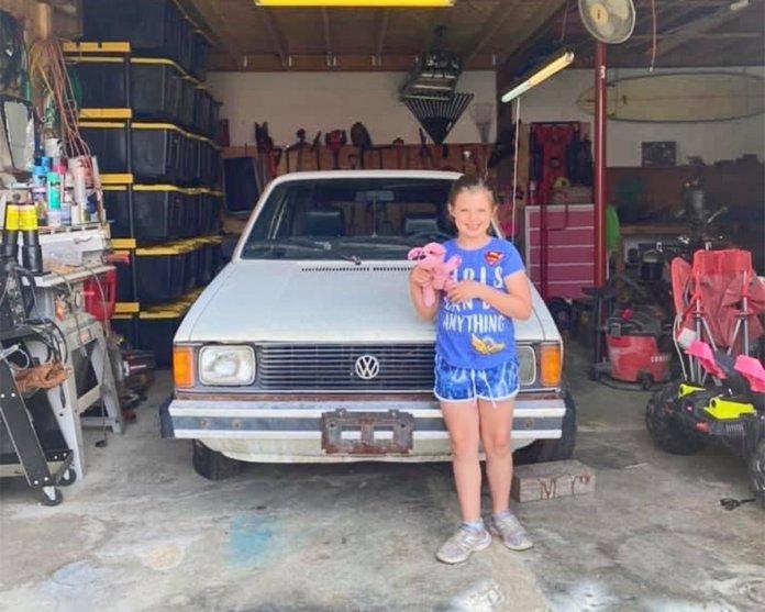 Juliana Linke with her 1983 Volkswagen Rabbit   Volkswagen photos