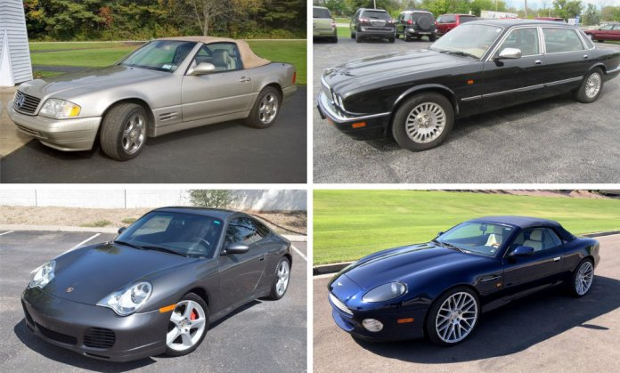 Andy's top 4 favorite European cars on AutoHunter