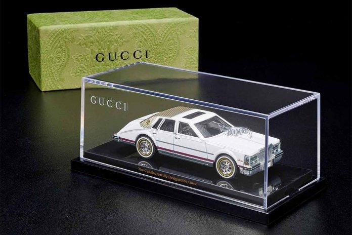 Hot Wheels Gucci collaboration   Mattel photos