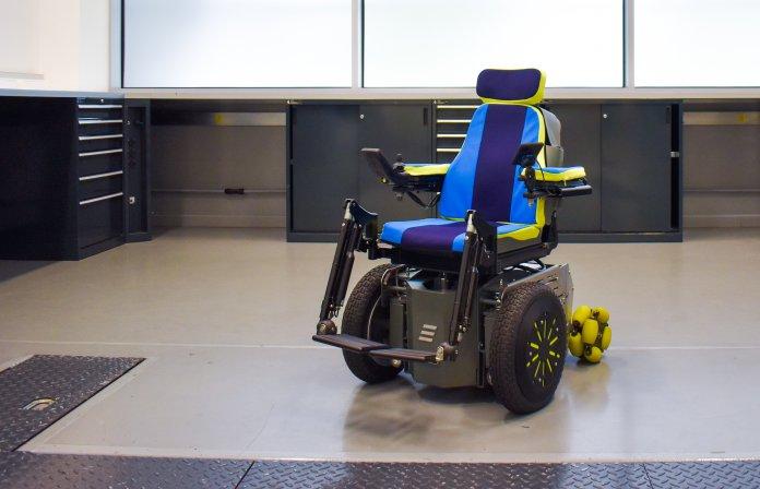 Whizz-Kidz wheelchair